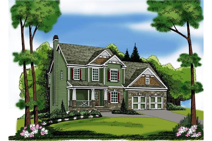 104-1103: Home Plan Rendering