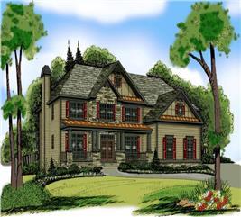 House Plan #104-1105