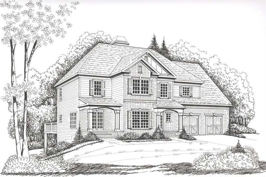 House Plan Ellington Front Elevation
