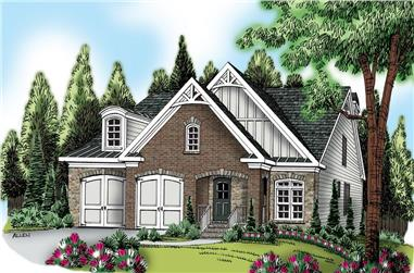3-Bedroom, 2365 Sq Ft Traditional House Plan - 104-1114 - Front Exterior
