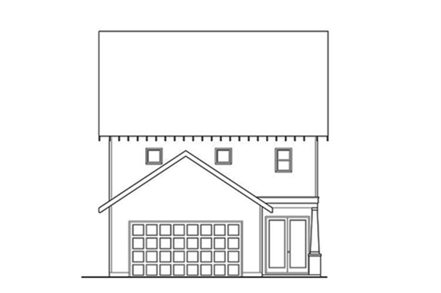 104-1120: Home Plan Rear Elevation