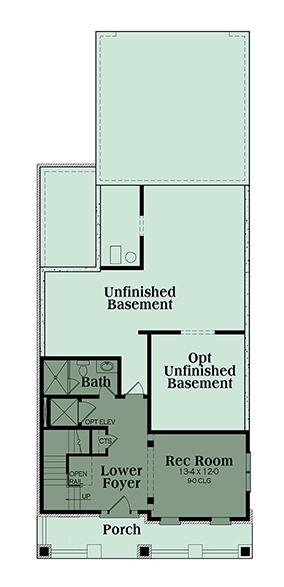 Coastal house plan 104 1120 3 bedrm 3391 sq ft home for 1120 westchester place floor plan