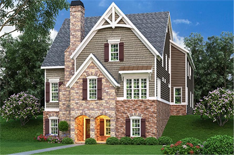 104-1131: Home Plan Rendering