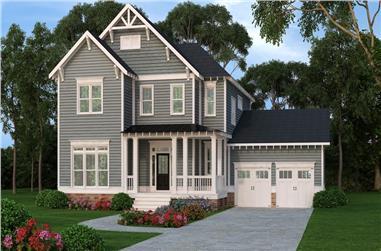 4-Bedroom, 3048 Sq Ft Craftsman House Plan - 104-1140 - Front Exterior