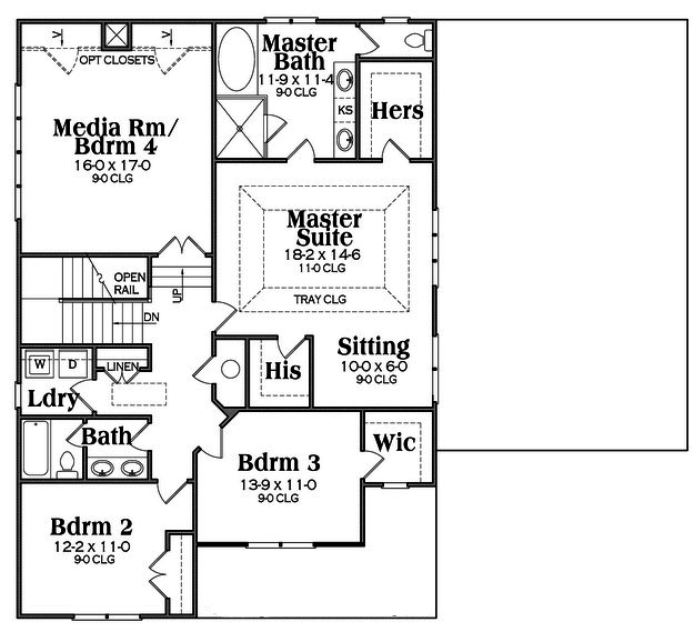 Floor Planning Tools In Asic: Craftsman House Plan #104-1151: 3 Bedrm, 3048 Sq Ft Home