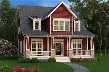 4-Bedroom, 2707 Sq Ft Country House Plan - 104-1152 - Front Exterior