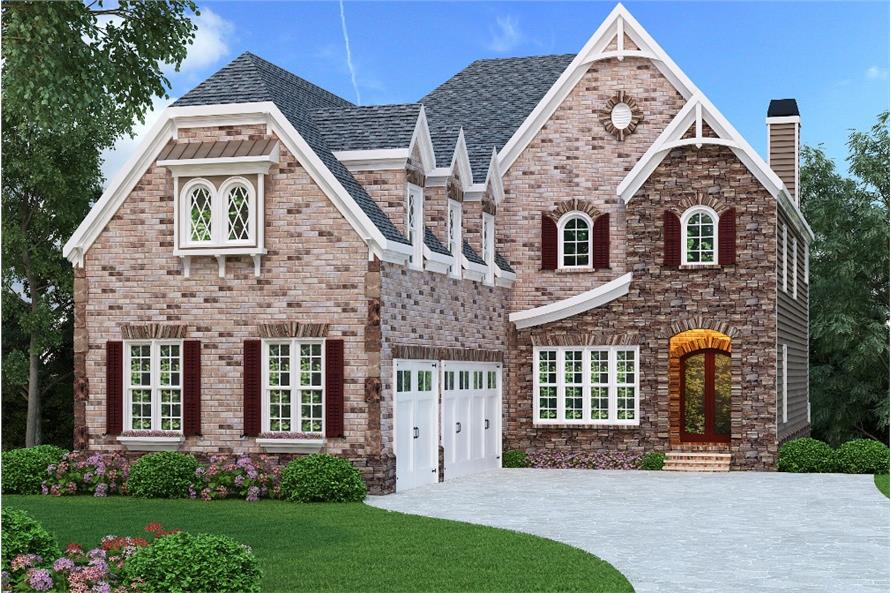 104-1153: Home Plan Rendering