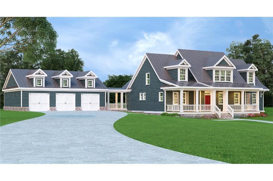 104-1158: Home Plan Rendering