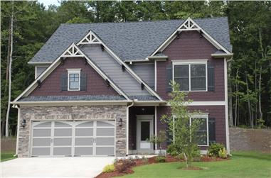 4-Bedroom, 2330 Sq Ft Traditional Home Plan - 104-1172 - Main Exterior