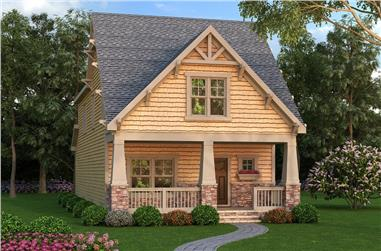 4-Bedroom, 2211 Sq Ft Craftsman House Plan - 104-1174 - Front Exterior