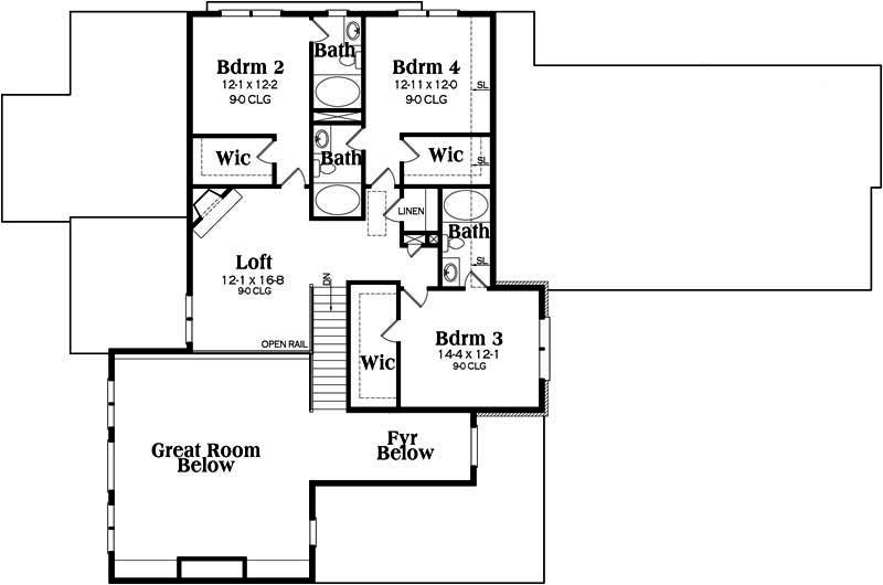 southern house plan  104