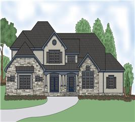 House Plan #104-1198