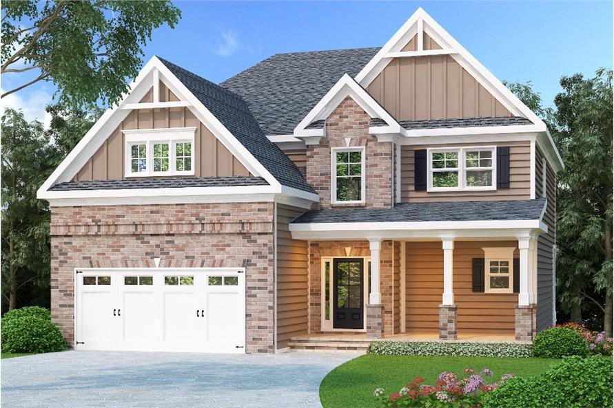 104-1216: Home Plan Rendering