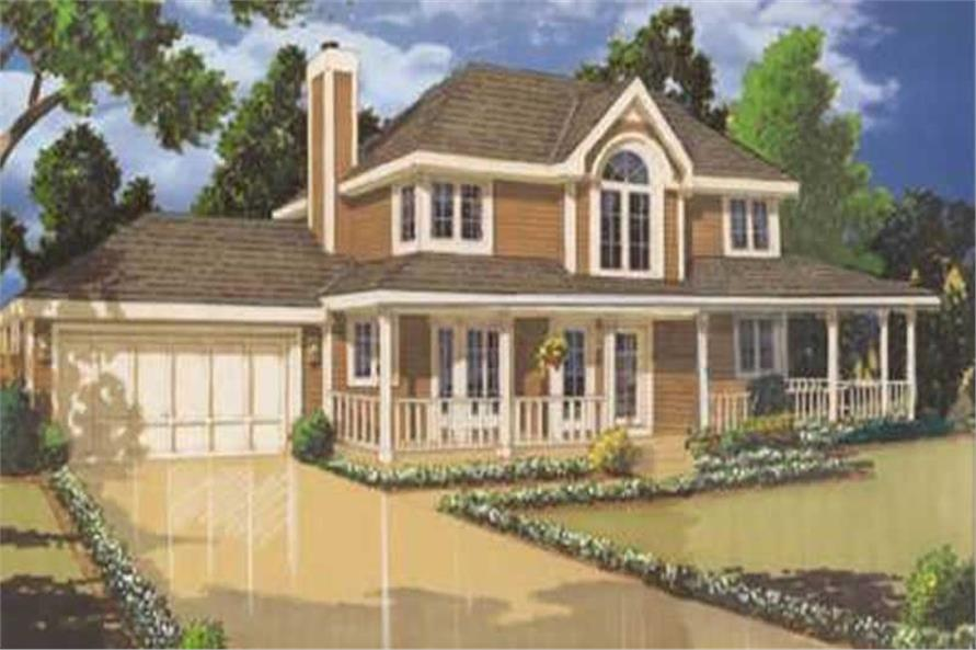 Main image for house plan # 9803
