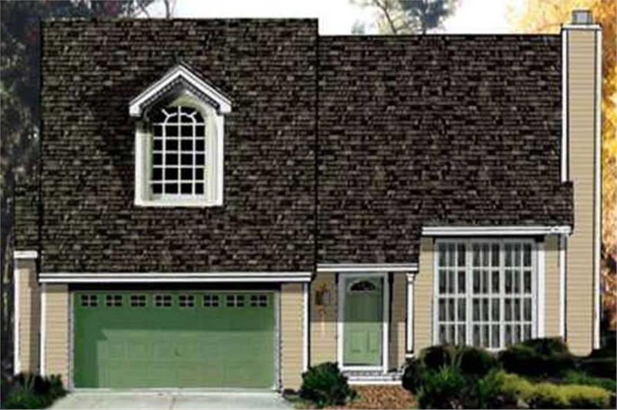 Main image for house plan # 9873