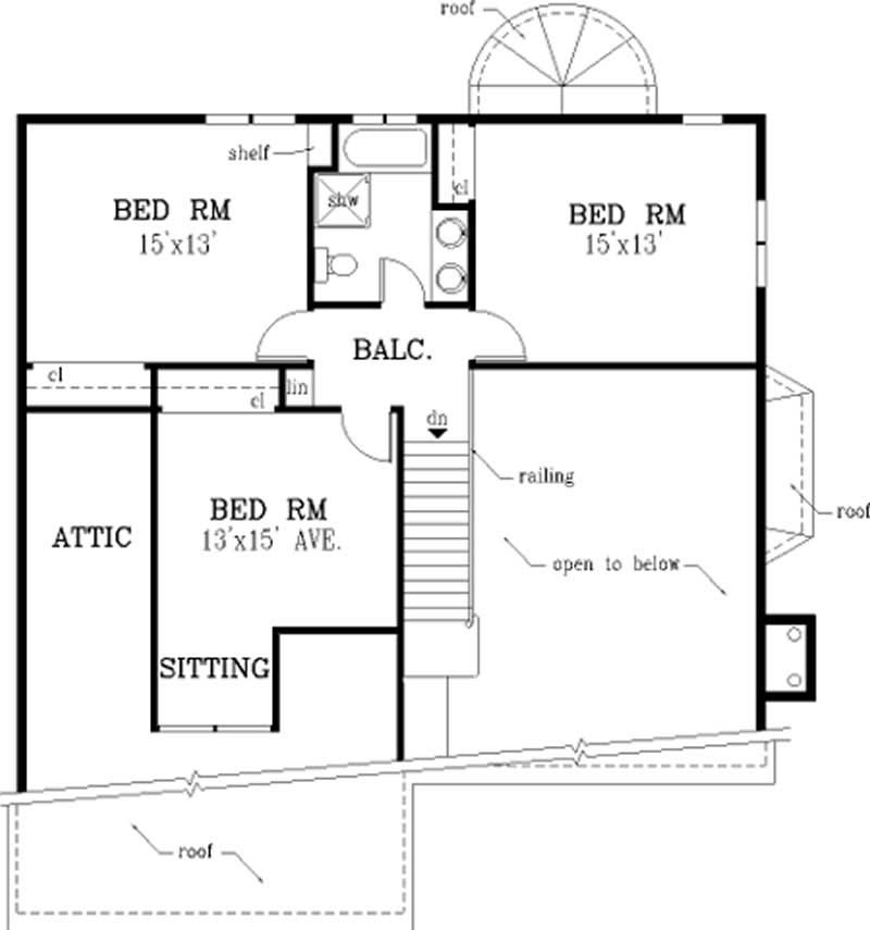 Specialty home with 4 bdrms 1993 sq ft house plan 105 1008 for 105 plan
