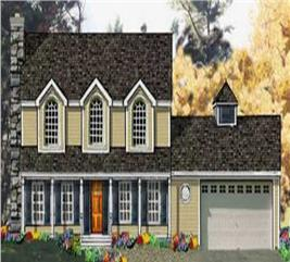 House Plan #105-1012