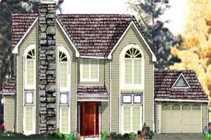 Main image for house plan # 9880