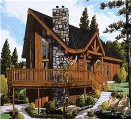 House Plan #105-1017