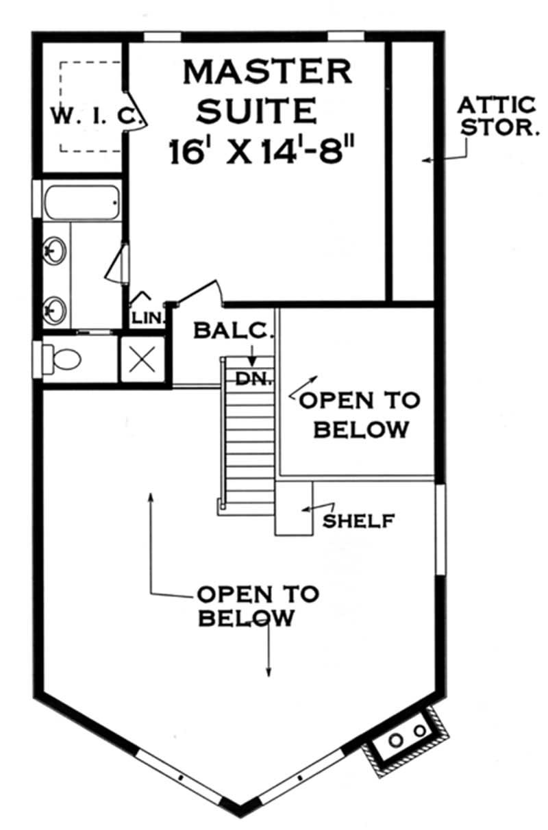 Craftsman home with 3 bdrms 1500 sq ft floor plan 105 1017 for 1500 sq ft craftsman house plans