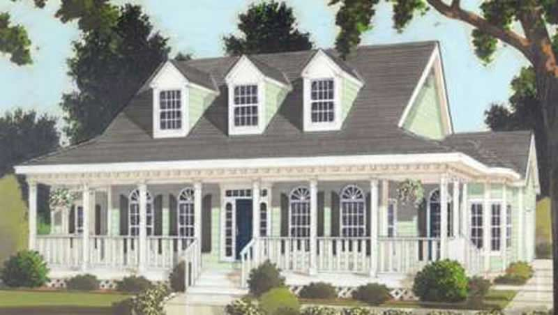 Country Home With 3 Bdrms 1649 Sq Ft Floor Plan 105 1018