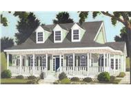 Main image for house plan # 9763