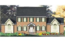 Main image for house plan # 9824