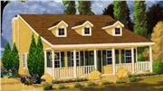 View house Plan#105-1023