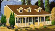 Main image for house plan # 9821