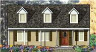 Main image for house plan # 9852