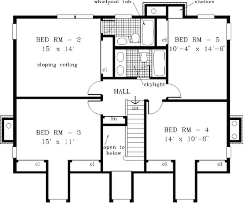 Country home with 5 bdrms 2705 sq ft house plan 105 1031 for 105 plan