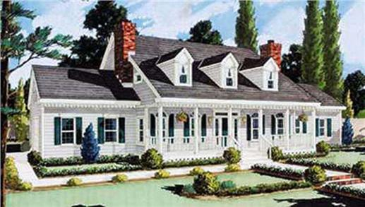 Main image for house plan # 9764