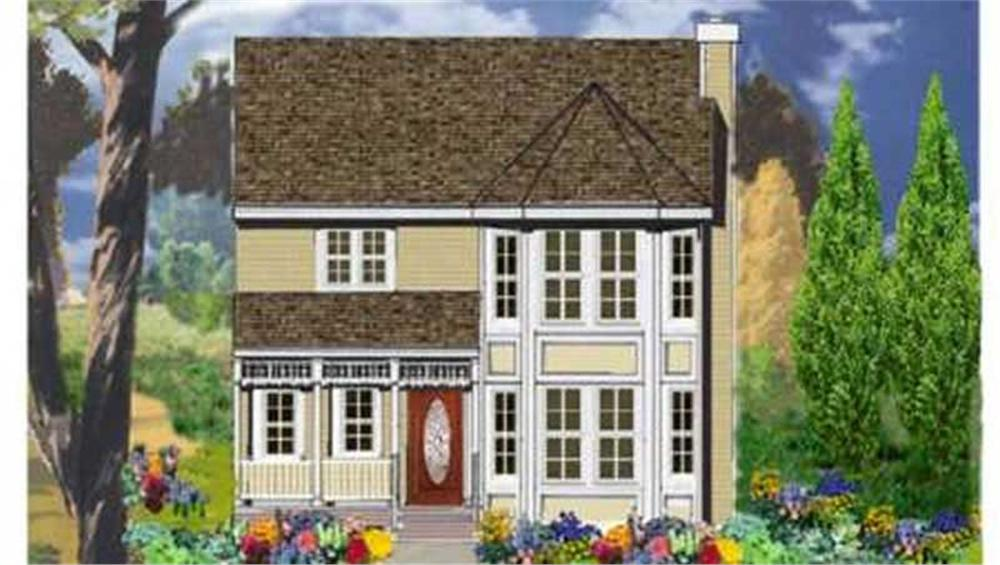 Main image for house plan # 9853