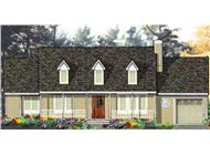Main image for house plan # 9773