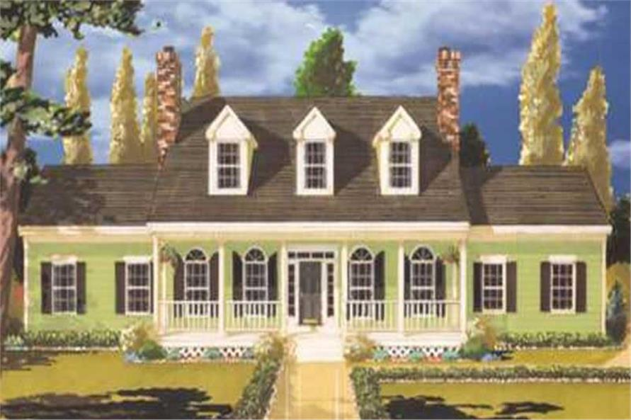 Main image for house plan # 9770