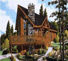 House Plan #105-1043