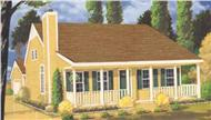 Main image for house plan # 9826