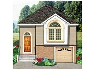 Main image for house plan # 9829