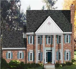 House Plan #105-1054