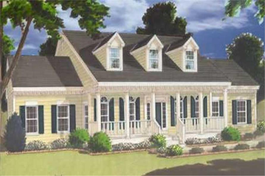 5-Bedroom, 3246 Sq Ft Colonial House Plan - 105-1057 - Front Exterior