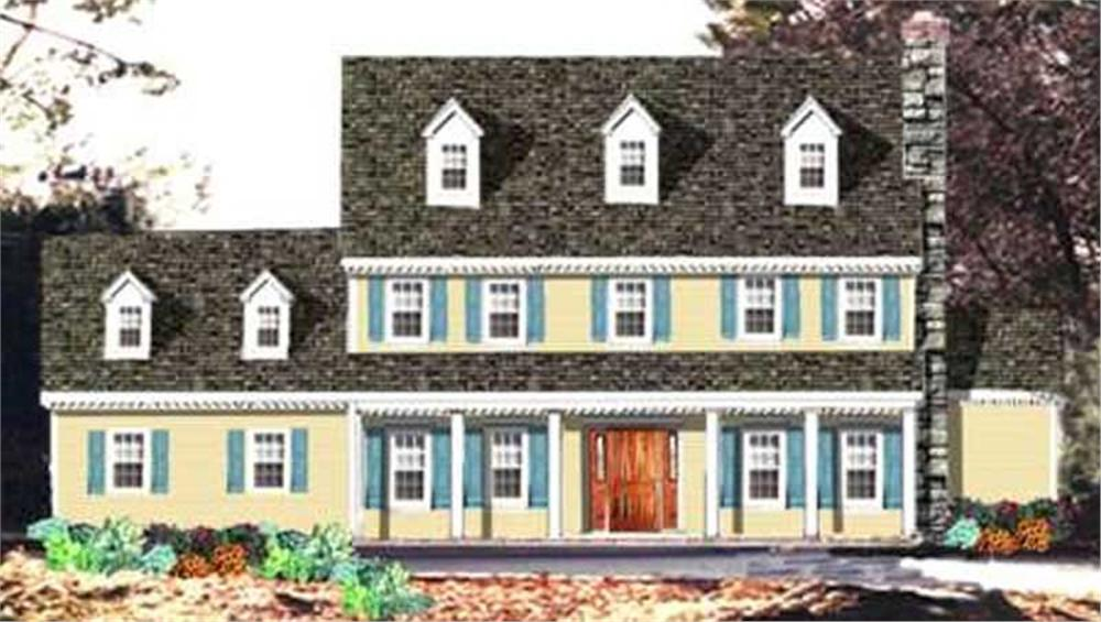 Main image for house plan # 9864