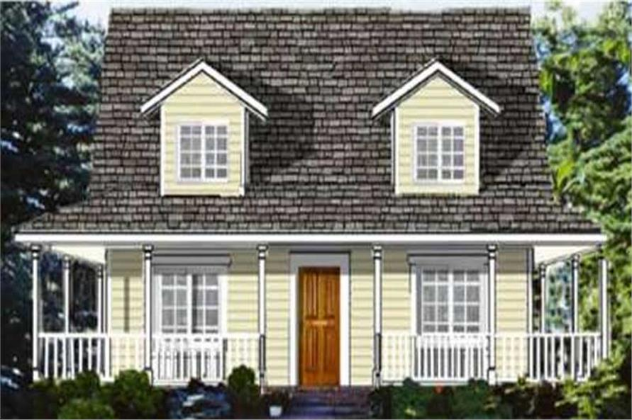 4-Bedroom, 1863 Sq Ft Country House Plan - 105-1064 - Front Exterior