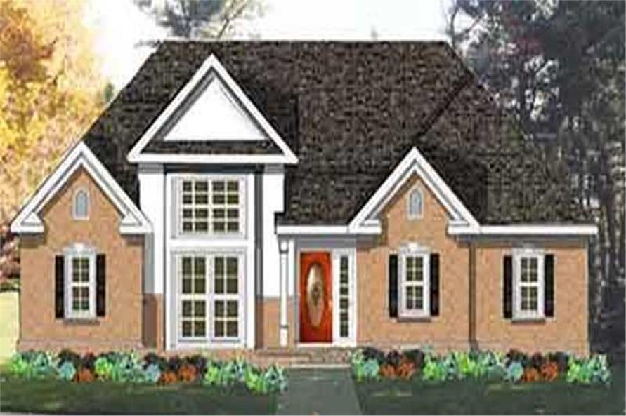 Main image for house plan # 9885