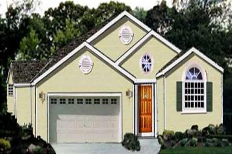 Main image for house plan # 9887