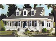 Main image for house plan # 9831