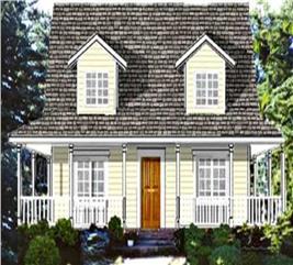 House Plan #105-1072