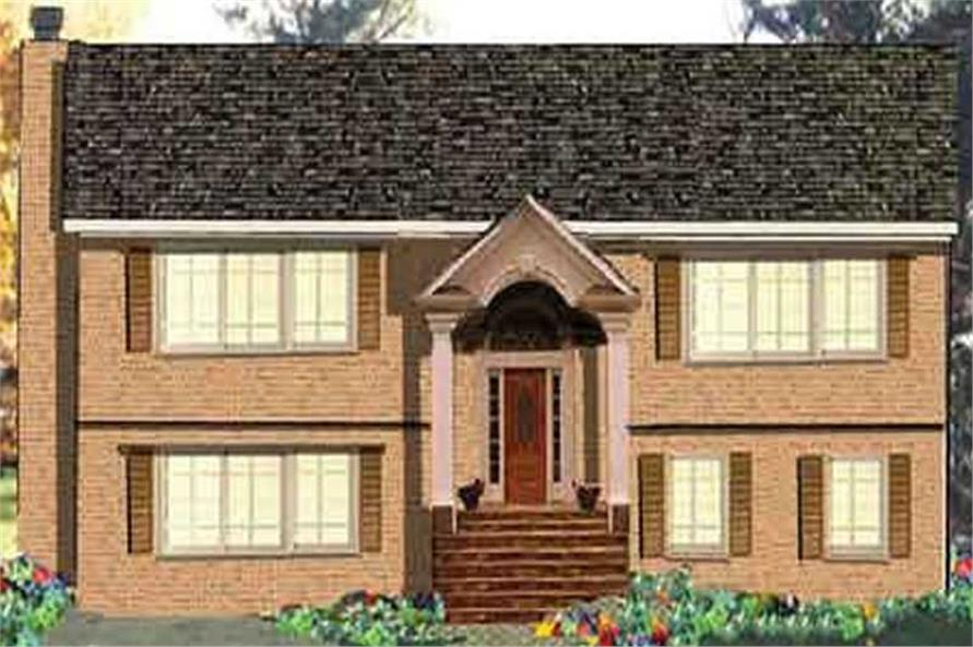 6-Bedroom, 3124 Sq Ft Multi-Unit House Plan - 105-1077 - Front Exterior