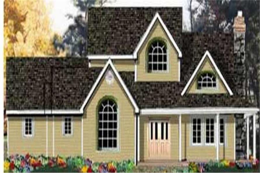 Main image for house plan # 9926