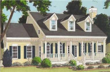 4-Bedroom, 2338 Sq Ft Country House Plan - 105-1081 - Front Exterior