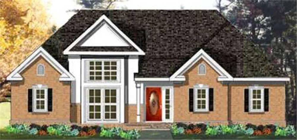 Main image for house plan # 9890
